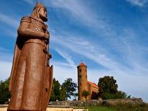 Inowlodz colegial, Polonia Imagen de archivo libre de regalías