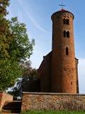 Inowlodz colegial, Polonia Imagenes de archivo