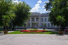 InowrocÅ'aw - Spa Park. Spa, park in Inowrocław, Poland stock photo