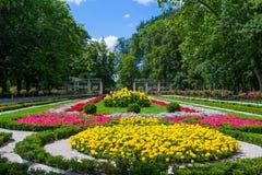 InowrocÅ'aw - Spa Park. Spa, park in Inowrocław, Poland royalty free stock photo