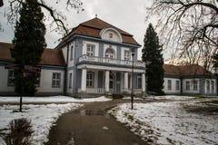 Inowroclaw zdrój 27 - borowinowa roślina - 01 2018, Polska Zdjęcia Stock