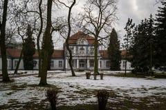 Inowroclaw zdrój 27 - borowinowa roślina - 01 2018, Polska Fotografia Royalty Free