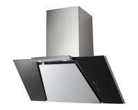 INOX cooker hood Royalty Free Stock Photo