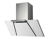 INOX cooker hood Royalty Free Stock Photography