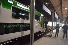 Inpeksi pociągu pokolenie 2 Obrazy Stock