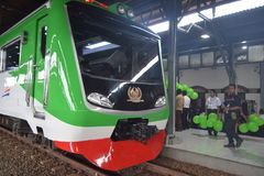 Inpeksi pociągu pokolenie 2 Fotografia Stock