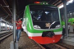 Inpeksi pociągu pokolenie 2 Obraz Royalty Free
