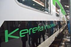 Inpeksi Train Generation 2. 684/5000 Royalty Free Stock Photography