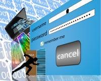 input Fotografia Stock Libera da Diritti