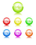 Input color icon Royalty Free Stock Photography