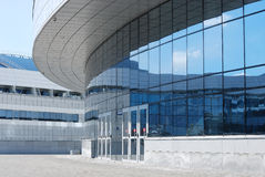 Input in a modern building Royalty Free Stock Photography