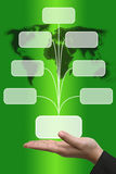 Input Screen Button Interface. Business Hand hold blank Technology Input Screen Button Interface