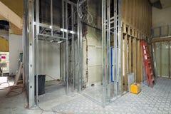 Inquadramento commerciale della vite prigioniera del metallo dello spazio Fotografie Stock