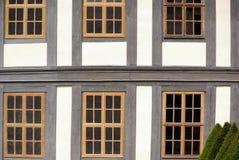 Inquadramento del legname della finestra Fotografia Stock Libera da Diritti