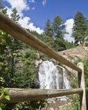 Inquadramento della cascata Fotografie Stock