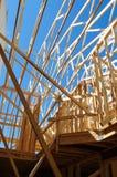 Inquadramento della costruzione Fotografia Stock