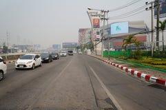 Inquiéter la qualité de l'air dans Chiangmai photo libre de droits