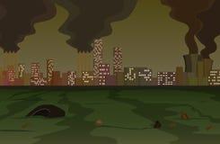Inquinamento illustrazione vettoriale
