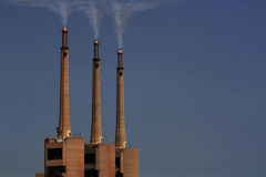 Inquinamento Fotografie Stock Libere da Diritti