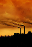Inquinamento ambientale Fotografie Stock