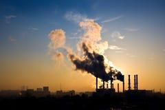 Inquinamento ambientale Immagine Stock