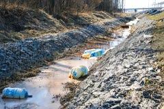 Inquinamento ambientale Inquinamento ecologico Problema di ecologia fotografia stock libera da diritti