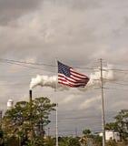 Inquinamento americano fotografie stock