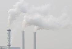 Inquinamento atmosferico Immagine Stock