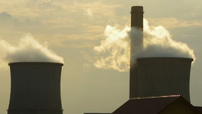Inquinamento atmosferico stock footage