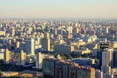 Inquinamento atmosferico di Pechino Immagine Stock