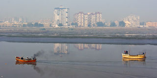 Inquinamento atmosferico in India Immagini Stock Libere da Diritti