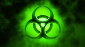 Inquinamento biologico dell'ambiente Il pericolo dell'infezione illustrazione vettoriale