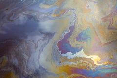 Inquinamento da idrocarburi Immagini Stock Libere da Diritti