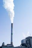 Inquinamento dalla fabbrica Fotografia Stock