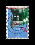 inquinamento dell'ambiente, requisiti ecologici del trasporto moderno, trasporto, Paesi Bassi, circa 1988, immagine stock libera da diritti