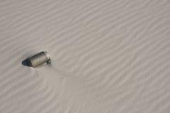 Inquinamento della spiaggia Fotografia Stock Libera da Diritti