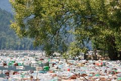 Inquinamento delle acque immagini stock