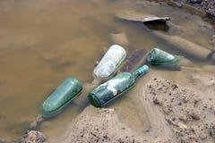 Inquinamento delle acque Immagine Stock