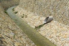 Inquinamento delle acque, priorità bassa di fognatura Immagine Stock Libera da Diritti