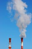 Inquinamento industriale Immagine Stock