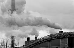 Inquinamento industriale Immagini Stock Libere da Diritti