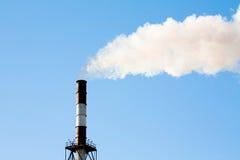 Inquinamento industriale dell'aria Fotografia Stock Libera da Diritti