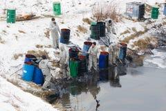 Inquinamento in Korolev Immagini Stock