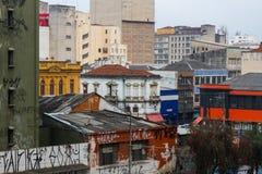 Inquinamento visivo urbano Immagini Stock Libere da Diritti