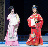 "Inquire about-Mothering-Jiangxi opera ""Red pearl"" Royalty Free Stock Photography"