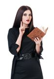 Inquisitive witch Stock Photography