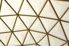 Inrama i kupolstrukturtaket Arkivfoton