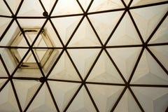 Inrama i kupolstrukturtaket Royaltyfri Bild