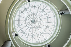 Inrama i kupoltaket Arkivbild