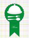 Inrama menyn. illustration Royaltyfri Foto